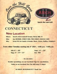 CT - Rocky Hill - Cruise Nights with the Over the Hill Gang @ Arch II Sports Bar and Grill | Rocky Hill | Connecticut | United States