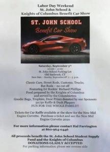 CT - Old Saybrook - St. John School Benefit Car Show @ St John School | Old Saybrook | Connecticut | United States