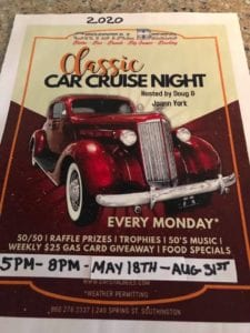 CT - Southington - Classic Cruise Night @ Crystal Bees | Southington | Connecticut | United States