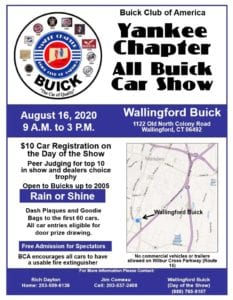 CT - Walllingford - Buick Club of America Yankee Chapter All Buick Show @ Wallingford Buick | Wallingford | Connecticut | United States