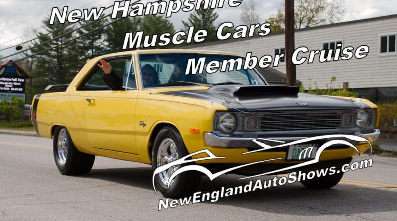 New Hampshire Muscle Cars member Cruise