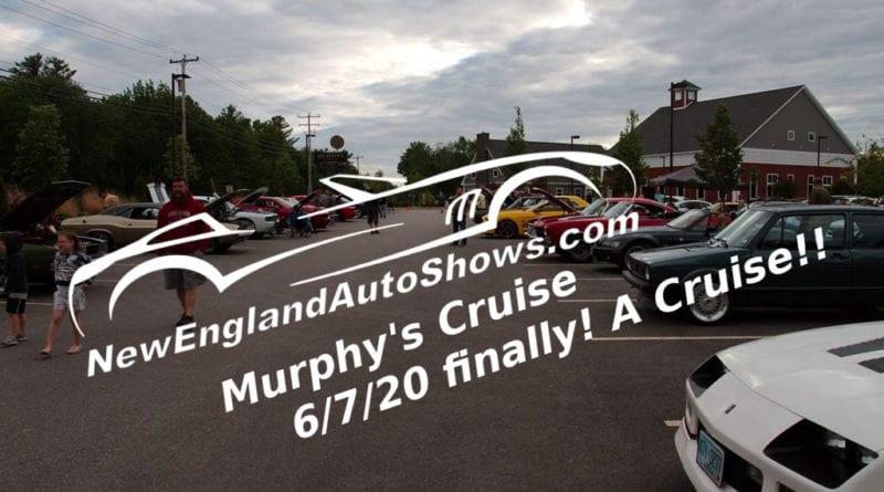 Murphy's Cruise 6/7/20 Finally! a Cruise!!