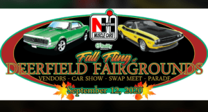 """NH - Deerfield - NH Muscle Cars """"Fall Fling"""" at Deerfield Fairgrounds @ Deerfield Fairgrounds 