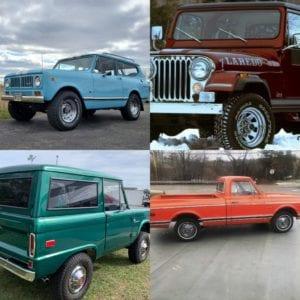 MA - Auburn - Vintage / Custom Pick Up Trucks / 4X4's Caffeine & Octane @ High Octane Classics | Auburn | Massachusetts | United States