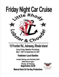 RI - Ashaway - Friday Night Cruise at Little Rhody Lobster and Chowder @ Hopkinton | Rhode Island | United States