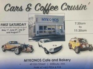 MA - Millbury - Cars & Coffee Cruisin' - Mykonos and A&D @ Millbury | Massachusetts | United States