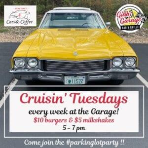 NH - Portsmouth - Cruisin' Tuesdays at Gibbs Garage Bar & Grille @ Gibbs Garage Bar & Grill | Portsmouth | New Hampshire | United States