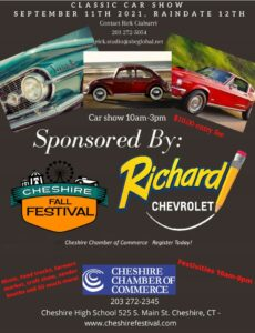CT - Cheshire - Fall Festival Classic Car Show @ Cheshire High School | Cheshire | Connecticut | United States