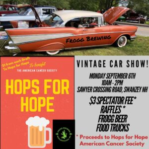 NH - Swanzey - Frogg Brewing Vintage Car Show @ Off of Sawyer Crossing Road | Swanzey | New Hampshire | United States